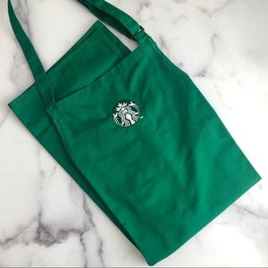 NWOT Starbucks green apron